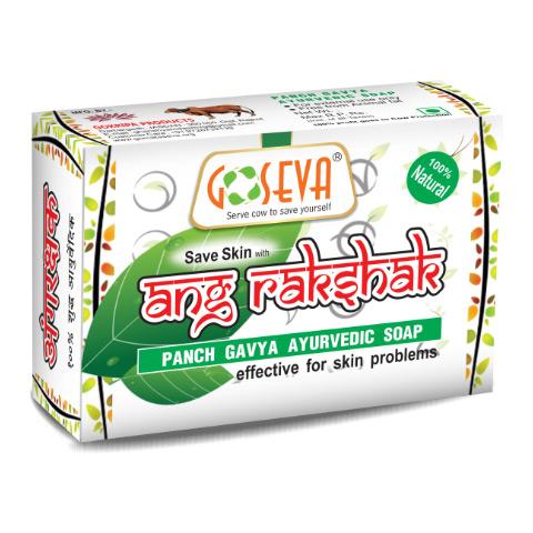 Buy Ayurvedic Natural Organic Angarakshak Bath Soap for Anti